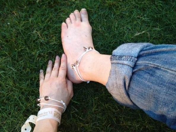 ミサンガを足首に付けて、おまじないの効力UPさせる5つの方法