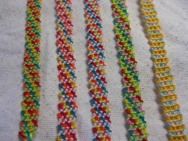 ミサンガの作り方初心者でも簡単な7つの編み方