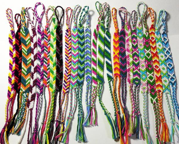 ミサンガの編み方☆模様入りで気をつけたいポイント一覧