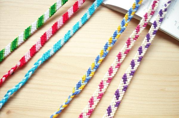 ミサンガの編み方☆模様入りでも簡単に編める7つのコツ