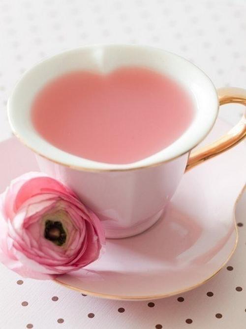 ハートの苺ミルクの画像