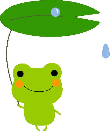 カエルの待ち受け