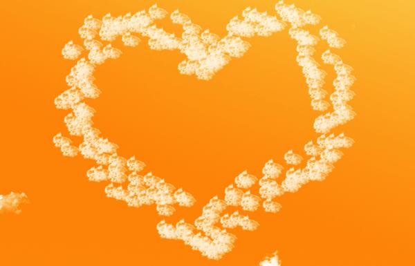 ライバルがいる人におすすめのオレンジ色のおまじない画像