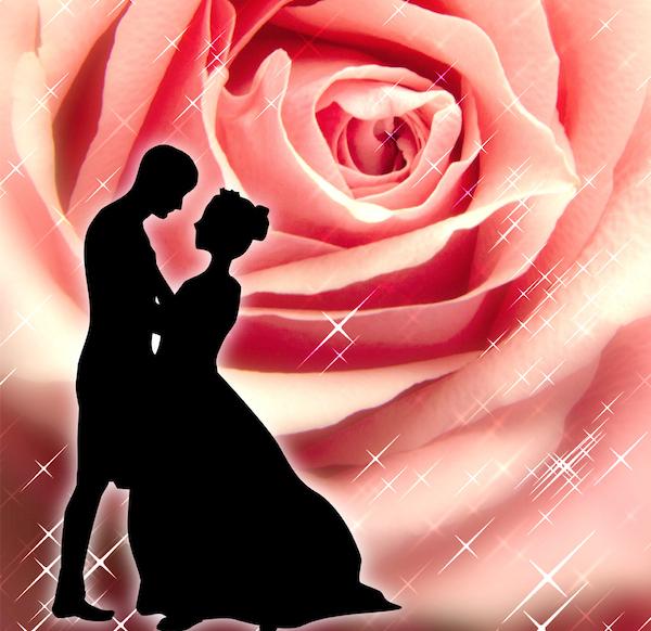 【復縁】願いが叶う待ち受け:シンデレラと薔薇